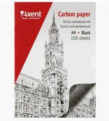 Бумага копировальная (копирка) Axent черная 100 л., 3301-01