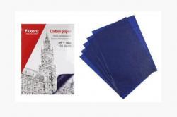 Бумага копировальная (копирка) Axent синяя 100 л., 3301-02