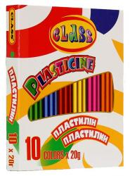 Пластилин CLASS 10 цветов 200гр. 7623