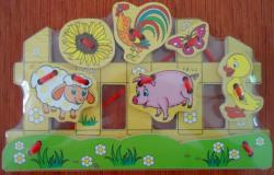 Шнуровка Домашние Животные 3