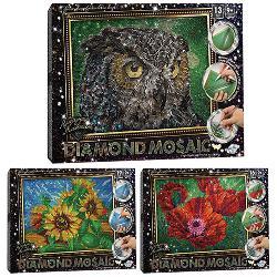 Набор креативного творчества  Алмазная живопись  DIAMOND MOSAIC , ДТ-ОО-09-81