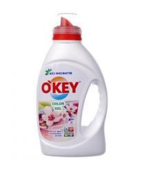 Гель для стирки O'KEY Color, 1,5 л.