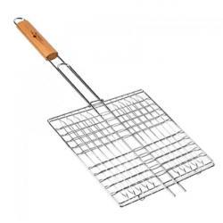 Решетка для гриля Stenson металлическая 55x27x24см, MH-0088