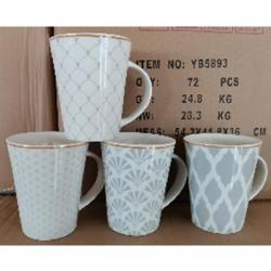 Чашка 400мл  Узоры  Stenson RX00821