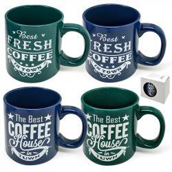 Чашка Stenson  Fresh coffee  500мл, 10322