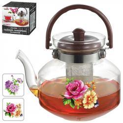 Чайник-заварник Stenson стеклянный 2 л, MS-0138