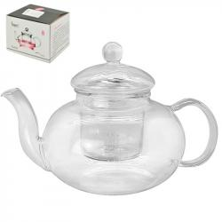 Чайник-заварник Stenson стеклянный 800 мл, R30161