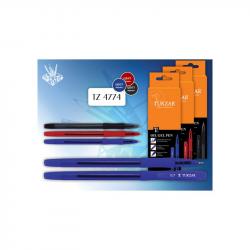 Ручка масляная TUKZAR BELINGA 0,7мм черная Tz-4774