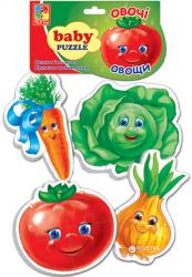 Бэби пазлы Овощи VT 1106-03