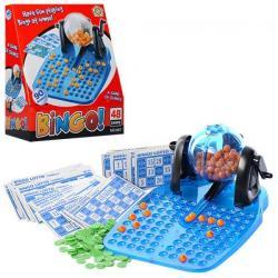 Bingo, лото, 48 карточек, 90 шариков (цифры), 867