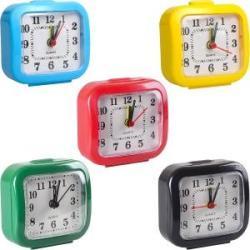 Настольные часы - будильник 7 * 7 * 3 см 2126/2001