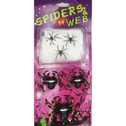 Набор  Пауки с паутиной  на Хэллоуин К-310