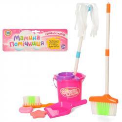 Игровой набор для уборки Metr + Мамина помощница, 556-19