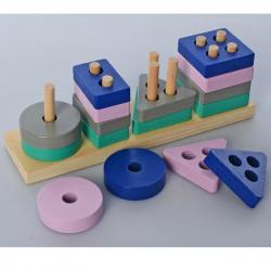 Деревянная игрушка Геометрика MD 2567