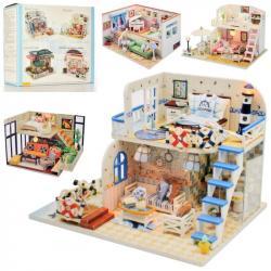 Деревянный домик для куклы, MD 2503