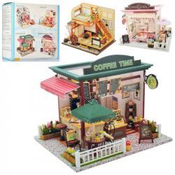 Деревянный домик для куклы, MD 2504