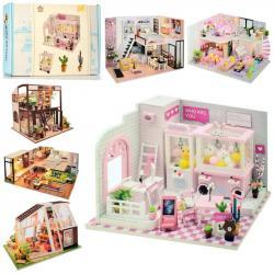 Деревянный домик для куклы, MD 2505