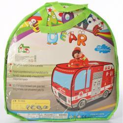 Детская игровая палатка Пожарная машина MR 0341