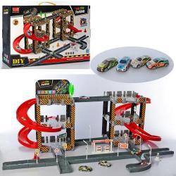 Детский игровой гараж 2 этажа, A333-239D
