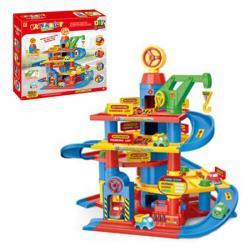 Детский игровой гараж 3 этажа, 866-4