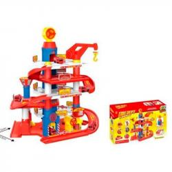 Детский игровой гараж 4 этажа, 866-32