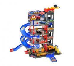 Детский игровой гараж 4 этажа, 92128