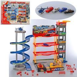 Детский игровой гараж 4 этажа, 92148