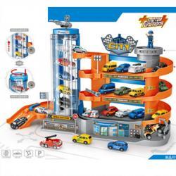 Детский игровой гараж 4 этажа  Motor Functions  E7003