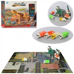 Детский игровой гараж, 9977-65A-66A