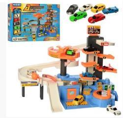 Детский игровой гараж KOZI, QL080
