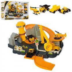 Детский игровой гараж Limo Toy Строительная площадка, M 5509
