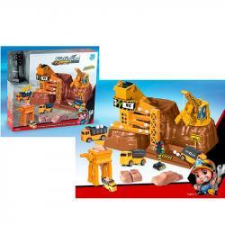 Детский игровой гараж Стройплощадка, 9977-35
