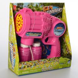 Детский игрушечный пистолет с мыльными пузырями, BW1010