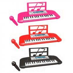 Детский синтезатор 37 клавиш, 6632-32A-32B