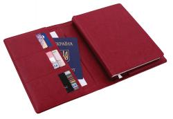 Ежедневник датированный + субобложка NEBRASKA бордо А5 Optima O25232-18