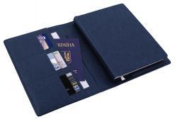 Ежедневник датированный + субобложка NEBRASKA тёмно-синий А5 Optima O25232-24