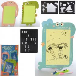 Дощечка Limo Toy Рисуй светом 2 в 1, SK 0018 ABC