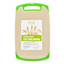 Доска разделочная Stenson из пшеничной шелухи Эко 33х20 см, R29047