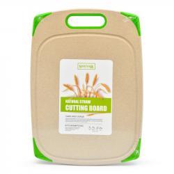 Доска разделочная Stenson из пшеничной шелухи Эко 35х25 см, R29044