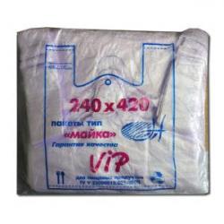 Пакет полиэтиленовый майка №2 (240*430)