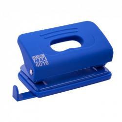 Дырокол 10 листов синий RUBBER TOUCH Buromax BM.4016-02