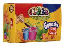 Краски гуашевые CLASS 6 цветов 10мл