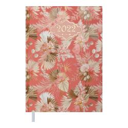 Ежедневник датированный А5 Blossom персиковый BUROMAX ВМ.2136-46