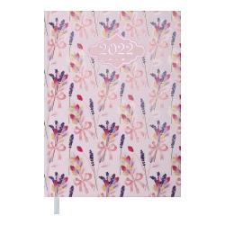 Ежедневник датированный А5 Blossom розовый BUROMAX ВМ.2136-10