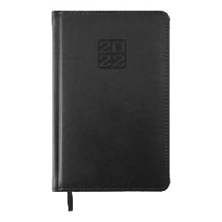 Ежедневник датированный А5 Bravo чёрный BUROMAX ВМ.2706-01