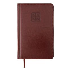Ежедневник датированный А5 Bravo коричневый BUROMAX ВМ.2706-25