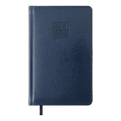 Ежедневник датированный А5 Bravo синий BUROMAX ВМ.2706-02