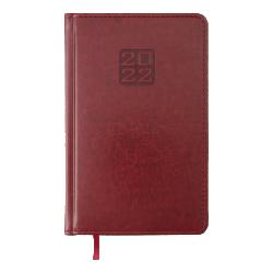 Ежедневник датированный А5 Bravo бордовый BUROMAX ВМ.2706-13