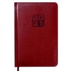 Ежедневник датированный А5 Bravo Soft коричневый BUROMAX ВМ.2112-25