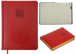 Ежедневник датированный А5 Bravo Soft красный BUROMAX ВМ.2112-05